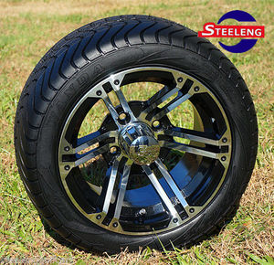 "10"" golf cart wheels and tires"