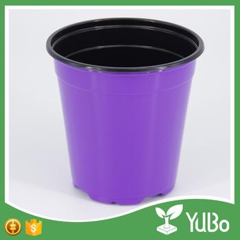 china fábrica venta directa plástico maceta para jardín vivero