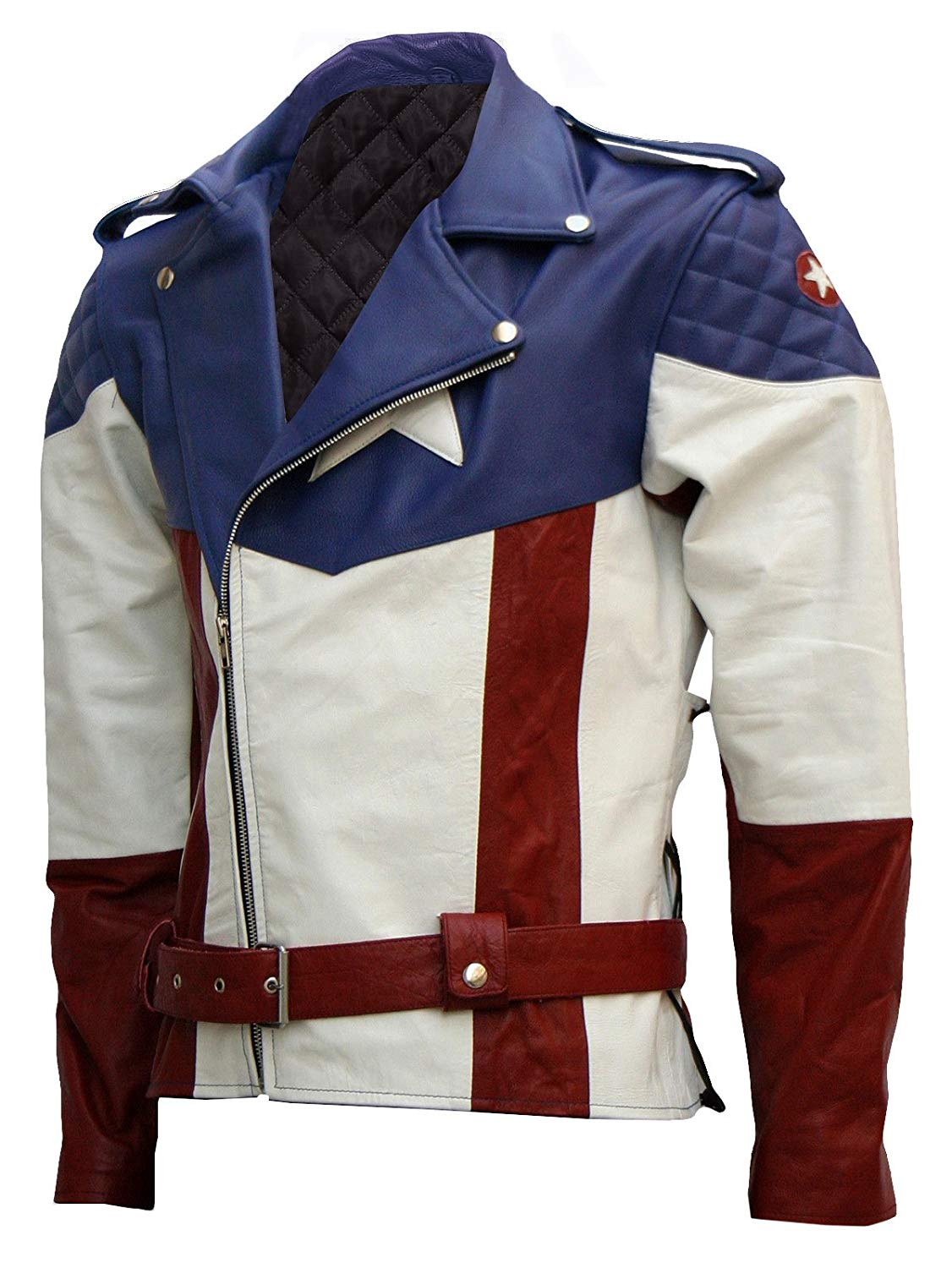 Xport Designs Real Leather X-Small Captain America Jacket
