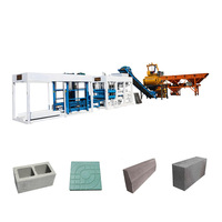 Hydraulic Automatic Brick Making Machine Construction Cement Blocks Equipment Curbstone Block Machine In Korea