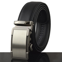 110CM Length Genuine Leather For Men With Reversible Metal Pin Buckle Leather Belt