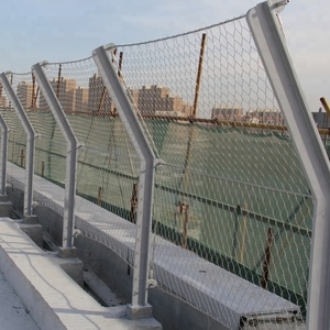 stainless steel 304/316 bridge security protecting wire mesh fence