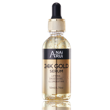 Anti Wrinkle Anti-aging Natural Lifting Moisturizing Face Lift Essential Oil 24k Gold Serum China Wholesale