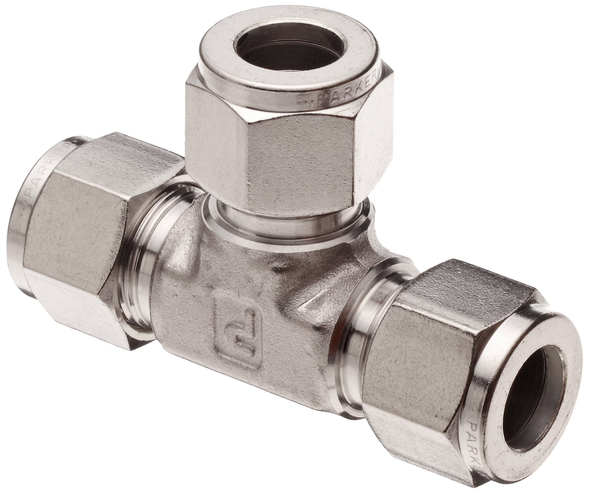1//2 Tube OD Pushlok Adapter Parker A-Lok 8P2TU8-316 316 Stainless Steel Compression Tube Fitting
