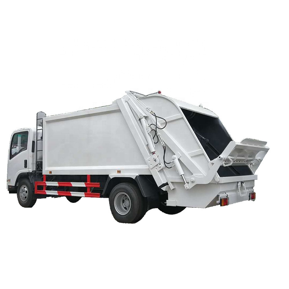 manufacturers ISUZU refuse collector truck price small garbage compactor trucks