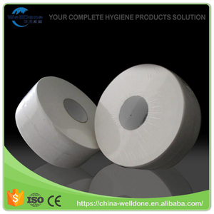 Welldone of Carrier Tissue Paper jumbo roll facial tissue