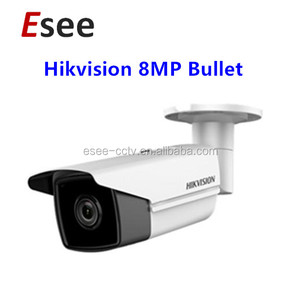 Hikvision HD H.265 IP67 8MP WDR PoE Outdoor Bullet IP Camera IR80M DS-2CD2T85FWD-I8