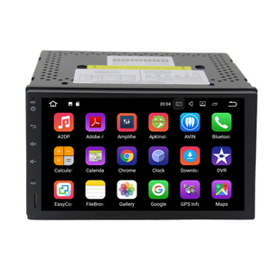 7inch full touch universal Android 7.1.2 car multimedia with wifi bluetooth gps player auto stereo system
