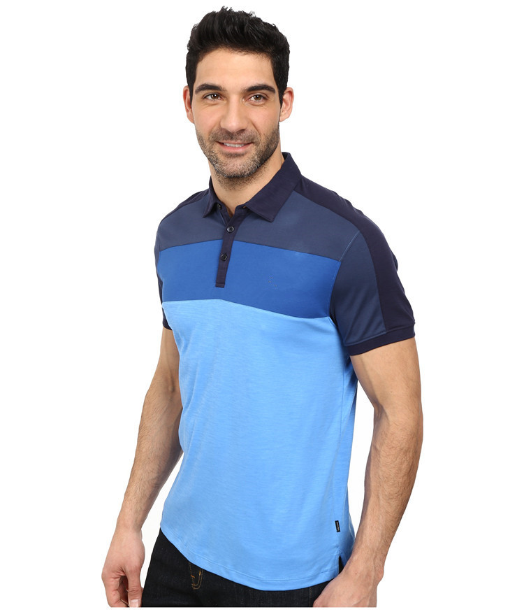 2015 latest custom mens tri color mens polo shirts 100 for Where to buy polo shirts cheap