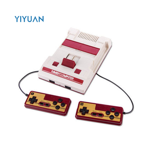 China Factory Price Classical 500 in 1 Video Game Console with 2 Gamepad TV Output built in 500 games 8 bit FC true color games