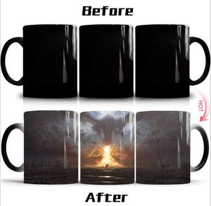 Heat Sensitive Mug Change Color Coffee Mug Color Changing Magic Mug