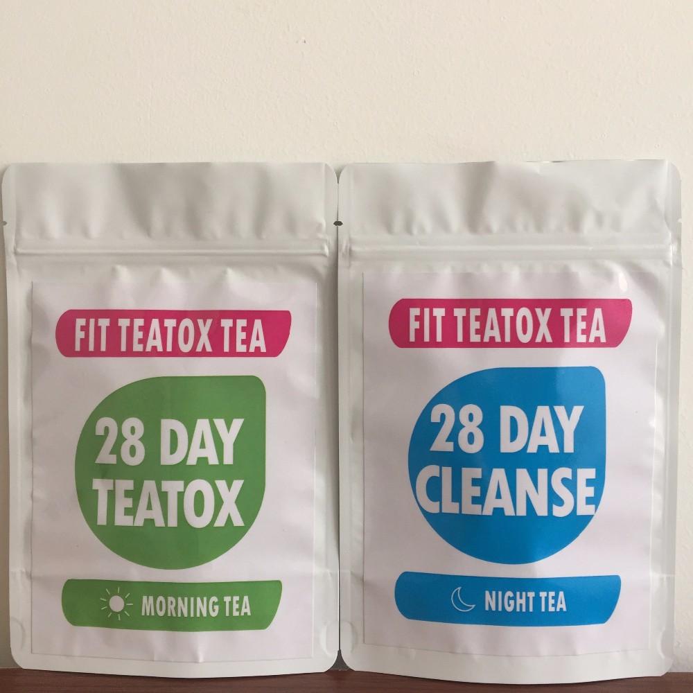 Private label 14 Day Skinny Mint Teatox 28 Day Herbal Slimming Detox Tea Weight Loss Tea - 4uTea | 4uTea.com
