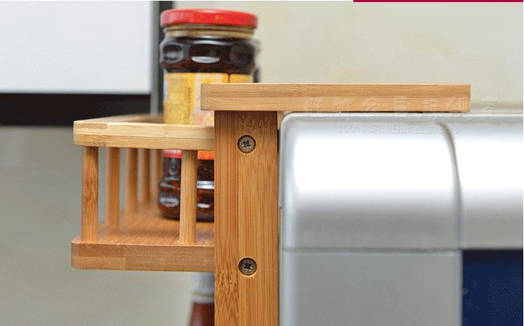 4 tier bamboo fridge storage rack 7
