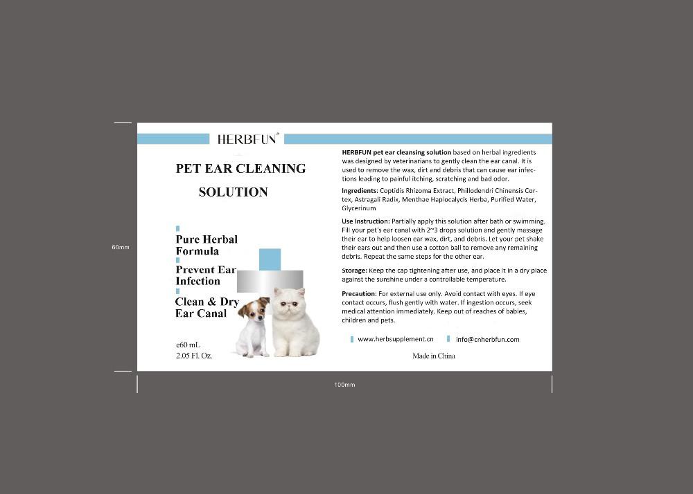 Non-medicated Natural Herbal Dog Cat Ear Cleansing Solution - Buy Dog Ear  Cleansing Solution,Cat Ear Cleansing Solution,Non-medicated Dog Ear