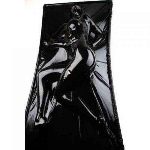3f65554ccf6 Get Quotations · Extreme Black Latex Vacuum Bed