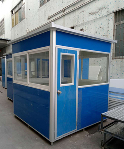 High quality portable outdoor security cabin guard box room house malaysia with Low Cost