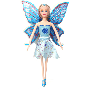 Hot Selling Wholesale Plastic Fashion Doll Eco-friendly Lighting Flying Fairy Girl Doll