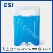HDPE outdoor lunch box with built in ice pack for beverage