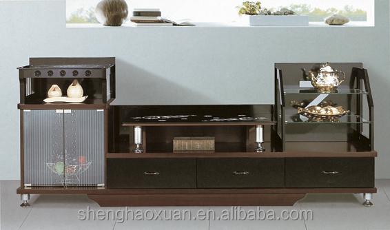 Latest Design Wooden Furniture Lcd Floor TV Stands LCD TV Floor