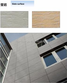New Type Heat Resistant Exterior Cladding Ceramic Flexible Decorative Wall Tile
