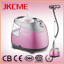 china manufacturer best selling product steam clothes ironer clothes magic steam iron pink