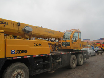 Good Condition China Made Crane Xcmg Qy25k Used Mobile Crane 25t ...