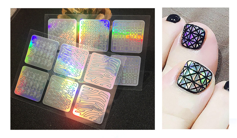 Fashion High Quality  Nail Art Stickers of DIY or Nail Decoration for Girls