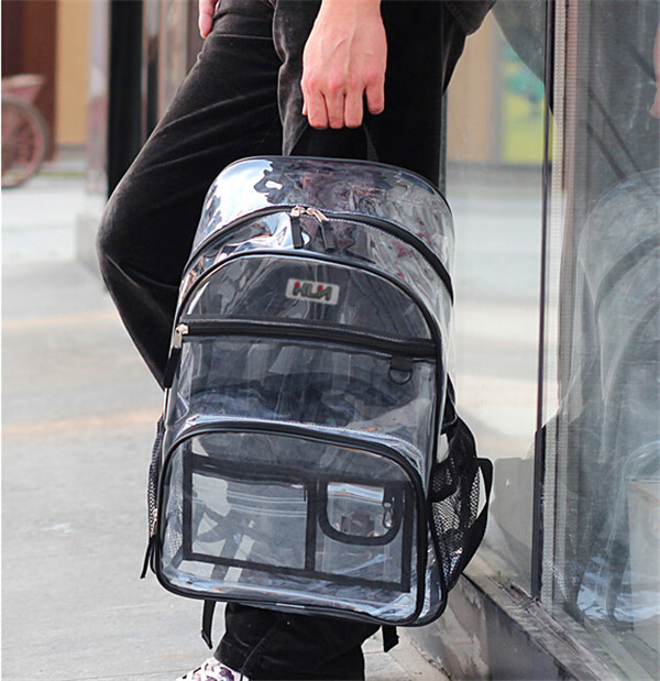 Whole Clear Book Bags Plastic Backpack