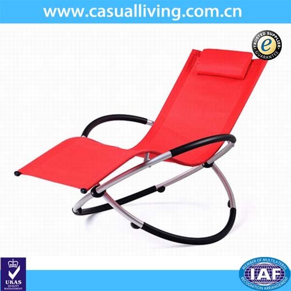 La gravedad cero patio tumbona plegable de aluminio silla mecedora buy mecedora mecedora - Mecedora plegable ...