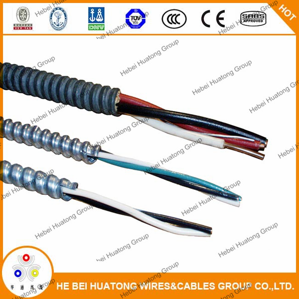 Miraculous 0 6 1Kv 3 10 Awg Thhn Inner Wire Armored Cable Mc Bx Cable With Ul Wiring Digital Resources Otenewoestevosnl