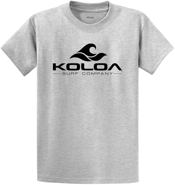 Koloa Surf Hawaiian Tribal Pattern Cotton T-Shirts in Regular Big and Tall Sizes