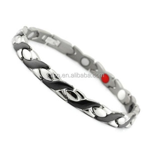 XLT- 845 energy bracelet good health men's 4 in 1 bio magnetic titanium bracelet