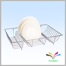 High quality stable metal adjustable tiered kitchen rack plate holder