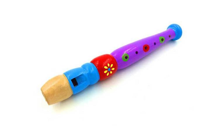 FQ Marke hochwertige Kinder interessante pädagogische Musikinstrumente Farbe Holz glücklich Flöte