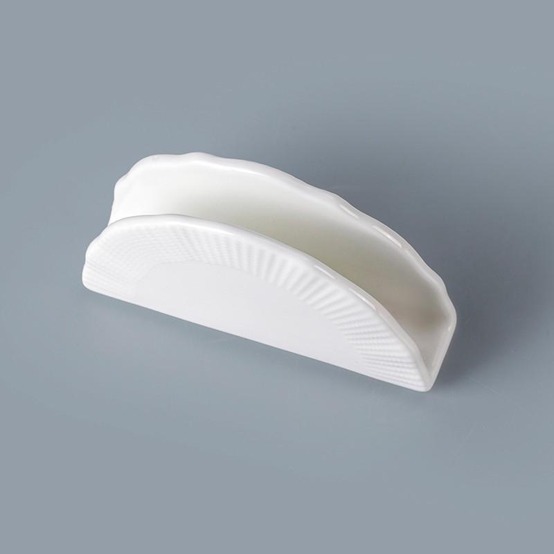 product-Two Eight-cheap white ceramic napkin holder wholesale promotion napkin holder napkin holder -1