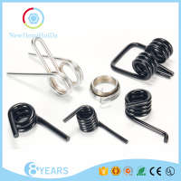 Double Adjustable Pins Small Zinc Plated Stainless Steel Coil Compression Spring,Extension Tension Spring,Torsion Spring