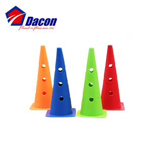 Outdoor Roller Skating Training Marker Cones With Holes