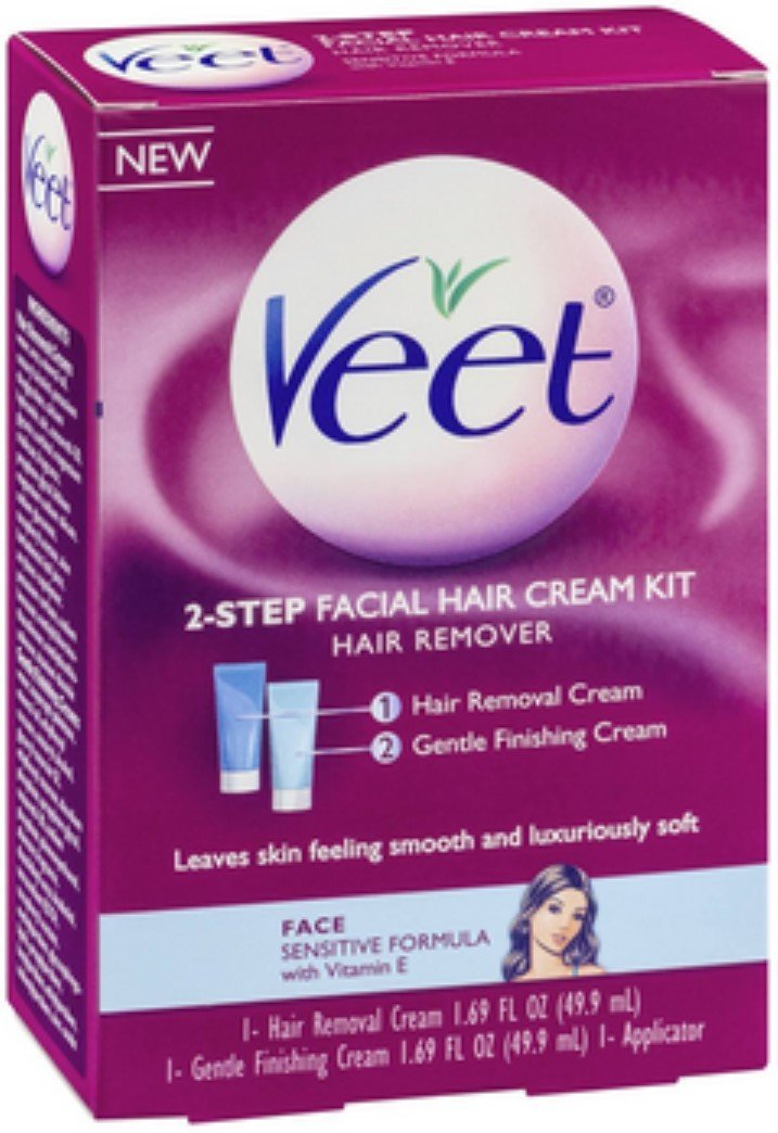 Buy Ddi 1041022 Veet 10 Pack Facial Hair Removal Wax Strips Case