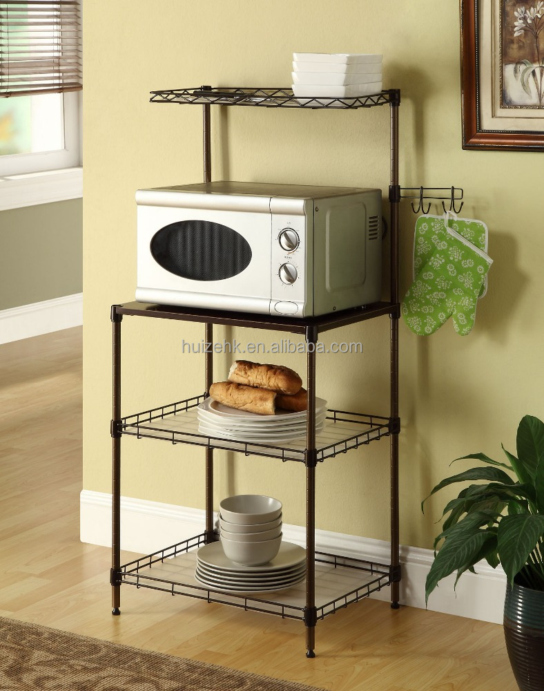 Microwave Oven Stand Rack Kitchen Organizer Shelf   Buy Microwave Oven Stand  Rack,Kitchen Organizer Shelf,Metal Rack Product On Alibaba.com