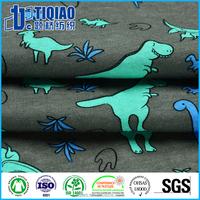 Kids T-shirt printed jersey fabric 100% cotton 32S/1 cartoon design