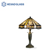 High Quality Stained Glass Tiffany Style Floor Lamp with accessories