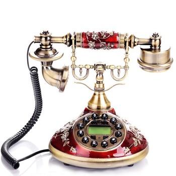 Classic Designer Corded Phone Home Decor Unique Landline Telephone