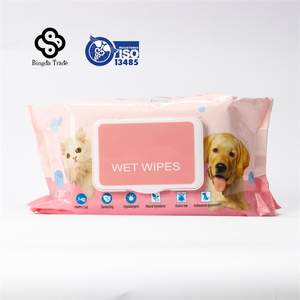 New style new arrival Pets Product Private Label Wet Customized Pet Wipes