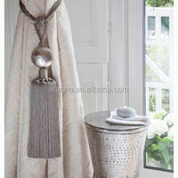 home decorative tassel curtain tieback
