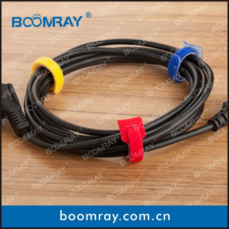 factory direct sales high quanlity colorful magic nylon soft cable strap tree tie