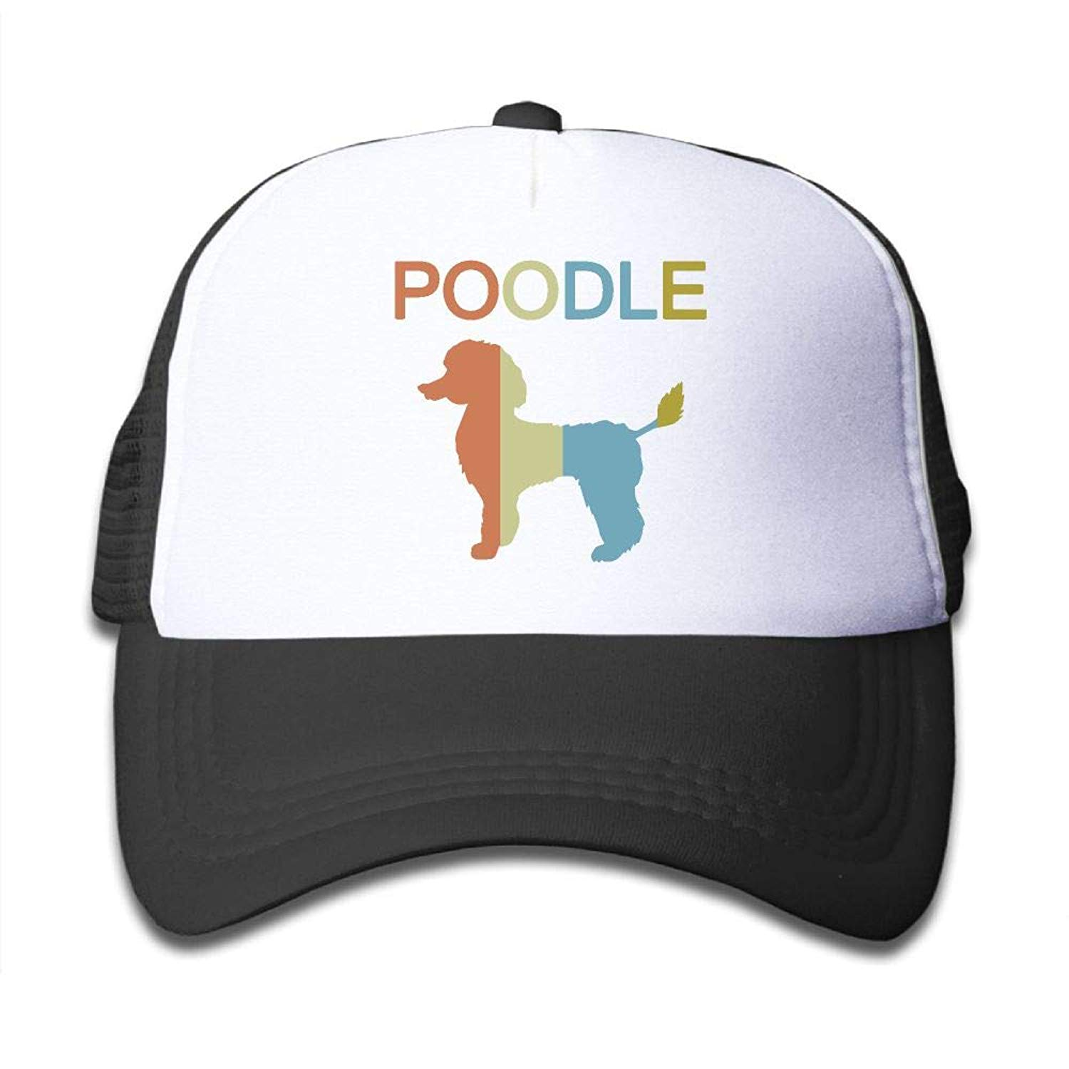 627672065fd49 Get Quotations · Poodle Vintage On Boys and Girls Trucker Hat