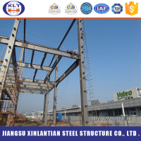 China supplier Prefabricated steel structure building steel structure factory with galvanized C section steel