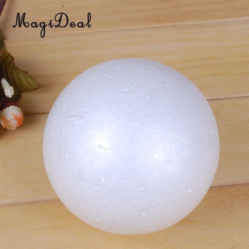 120mm Large Szie Modelling Styrofoam Ball Xmas Tree Wedding Party Decor Ornaments