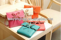 2013 stylish butterfly ladies purses