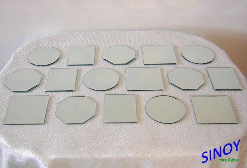 Round Shaped Centerpiece Mirror Tiles For Weddings Boutique 12 Inch X
